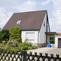 Einfamilienhaus in ruhiger Wohnsiedlung.